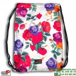 Bolsa Gymsack Flores Blanca B16120 John Smith
