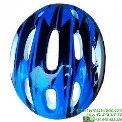 Casco para Niños Azul 58cm