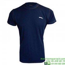 Camiseta TECNICA DRY Marino Economica hombre Niño deporte manga corta