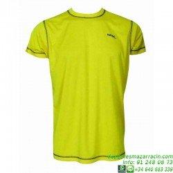Camiseta TECNICA DRY Amarillo Economica
