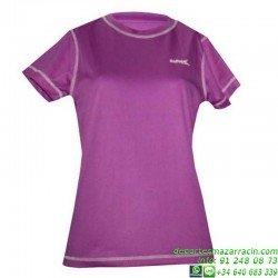Camiseta TECNICA Mujer/Niña DRY Violeta Economica
