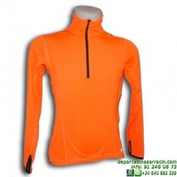 Cortavientos Soft-shell light JOLUVI UNKAS 230049-12 Running Naranja