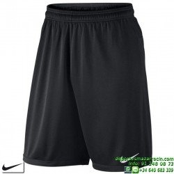 Pantalon Corto Nike Academy Longer Knit 2 Negro 658216-012 Short Deporte