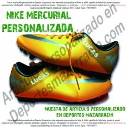 PERSONALIZAR tus botas de futbol NIKE MERCURIAL (Imagenes de muestra)