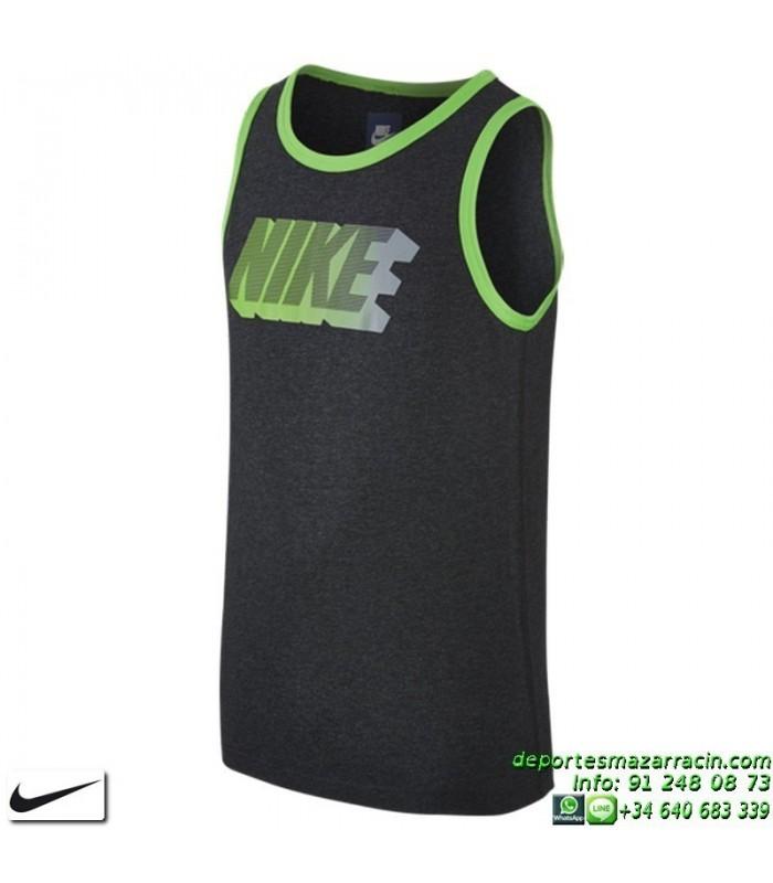 la compra auténtico en stock bastante baratas Camiseta Tirantes NIKE YTH FUTURA ICON TANK Negro 728314-032 Junior