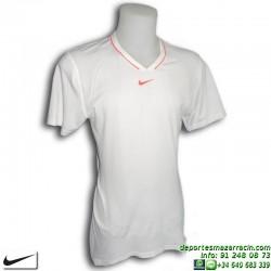 Camiseta Tenis Nike NADAL WIMBLEDON DRI FIT 381363-100 Blanca