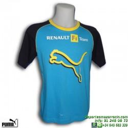 Camiseta Puma RENAULT F1 TEAM TEE Azul Hombre 601277-01 Algodón
