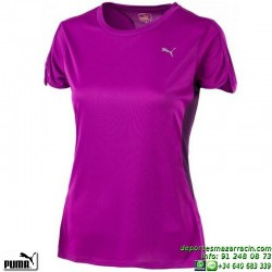 Camiseta Mujer PUMA RUNNING SS TEE Rosa 509807-11 poliester deporte