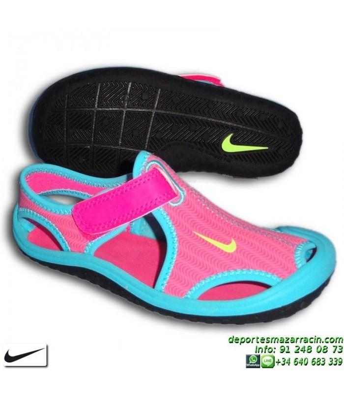 Ps Chancla Azul Rosa Sandalia Niña Protect 344992 Sunray Nike 612 sdrtCQhx