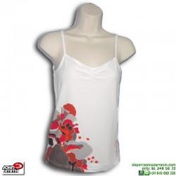 Camiseta Tirantes Mujer John Smith LUCENA Blanco sin mangas algodon