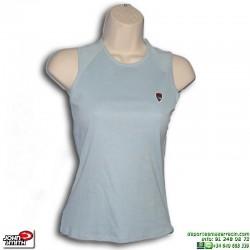Camiseta Sin Mangas Mujer John Smith LAROSA Azul Celeste Tirantes algodon