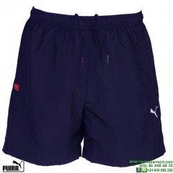 Pantalon Corto PUMA ESS Woven Shorts 816540-01 Azul Marino tenis padel