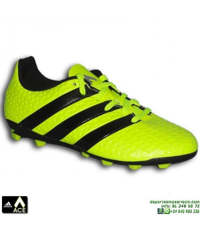 e30e7c0f378 Adidas ACE 16.4 NIÑOS Amarilla Fluor Bota Futbol Tacos FxG S42144 James  Kroos