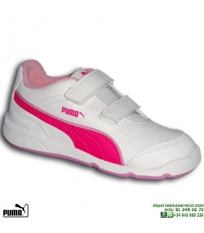 zapatillas niña velcro puma
