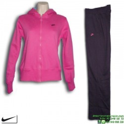 Chandal Chica NIKE Algodon WARM UP Rosa 323904-625 niña Girls