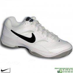 Zapatilla Tenis/Padel NIKE COURT LITE CLAY Espiga 845026-100 Blanco deporte suela personalizar