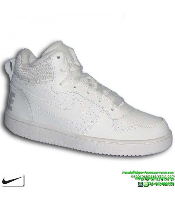 Compra Tenis Hombre Nike Court Borough Mid + Medias Cortas