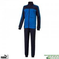 Chandal Junior PUMA STYLE Tricot Suit Azul royal 839063-13 niño poliester acetato