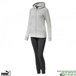 Chandal Mujer PUMA STYLE BEST Sweat suit W Algodon 838626-04 Gris