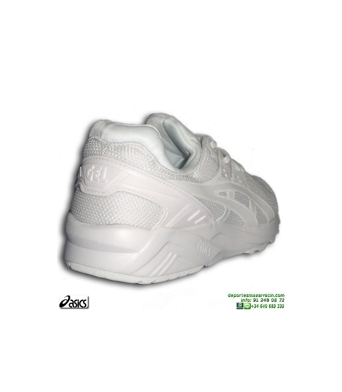 ef4faf89c9c Sneakers ASICS GEL KAYANO TRAINER EVO Blanca Hombre HN6A0-0101 zapatilla  deportiva. Sneakers ASICS GEL KAYANO TRAINER EVO ...