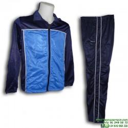 Chandal JOLUVI SENCO Azul - Azul Marino oferta hombre poliester acetato deporte gimnasia