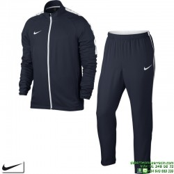 Chandal NIKE ACADEMY Woven Tracksuit Dri Fit Hombre Azul marino Poliester Microfibra 844329-451