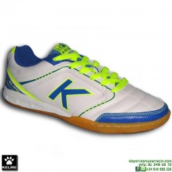 Bota Futbol Sala KELME GOLEIRO INDOOR Blanca 55774 zapatilla personalizable