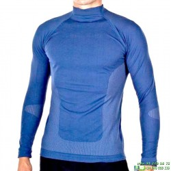 Camiseta Termica JOLUVI PERFORMANCE TEE Azul adulto niño manga larga futbol tenis atletismo