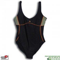 Bañador Natación Señora John Smith BS0615 Negro tallas grandes