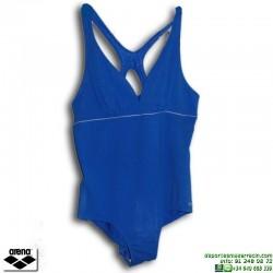 Bañador Natación Señora ARENA MELBLACK Azul tallas grandes