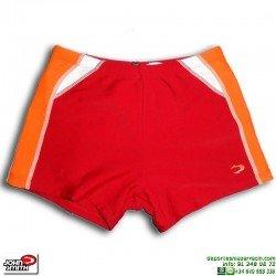 Bañador Boxer Niño Natación JOHN SMITH BB0605 Rojo
