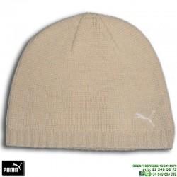 Gorro de Punto Mujer PUMA SKULL CAP Beige 840444-07 lana