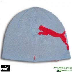 Gorro Punto PUMA BASIC BEANIE Azul-Rojo 840697-08 lana unisex