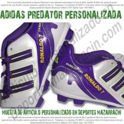 PERSONALIZAR tus botas de futbol ADIDAS PREDATOR (Imagenes de muestra)