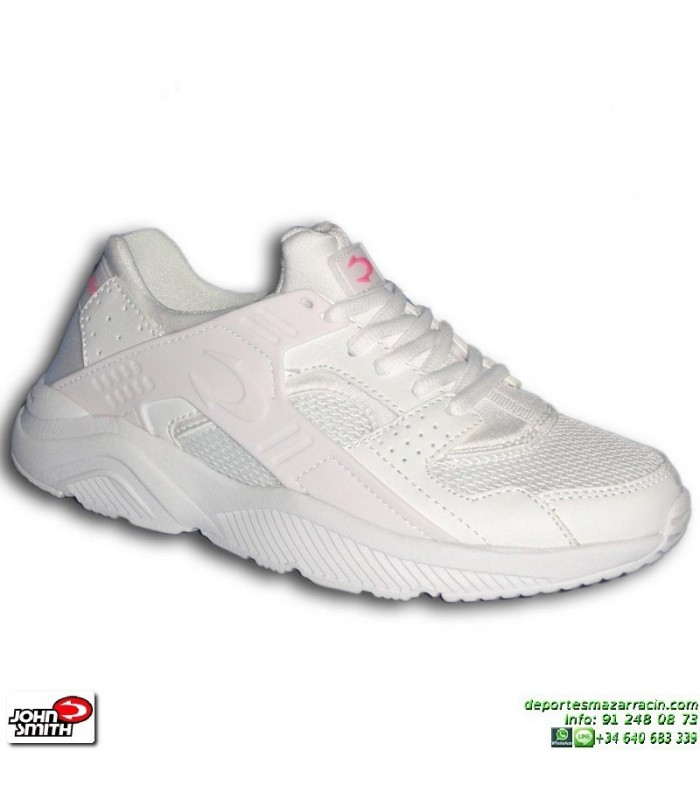 Deportiva Blanco Zapatilla Roxin Woman Mujer Smith Sneakers Chica John 2DIWE9H
