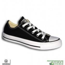 Sneaker CONVERSE Chuck Taylor ALL STAR Classic OX Negro Mujer deportiva lona tela Moda M9166C-001