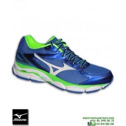 Mizuno WAVE ULTIMA 8 Azul Zapatilla Running J1GC160942 hombre