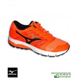Mizuno SYNCHRO MD 2 Zapatilla Running Naranja J1GE171811 deportiva Correr atletismo pisada NEUTRA