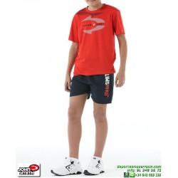 Conjunto Camiseta Short junior John Smith SEIS rojo
