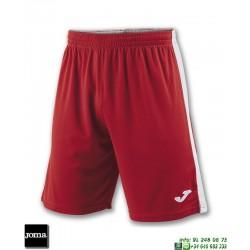 JOMA Pantalon Corto TOKIO II SHORT Futbol ROJO BLANCO 100684.602