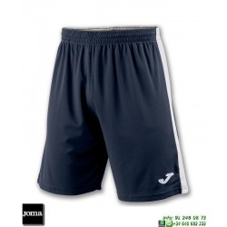 JOMA Pantalon Corto TOKIO II SHORT Futbol AZUL MARINO BLANCO 100684.302