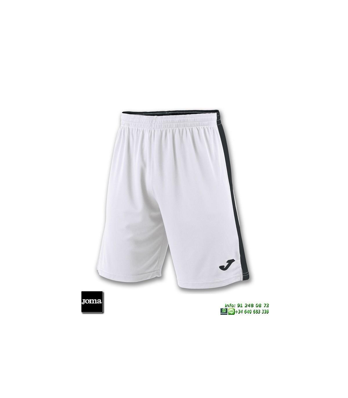 5bd9b6c3d5 JOMA Pantalon Corto TOKIO II SHORT Futbol BLANCO NEGRO 100684.201