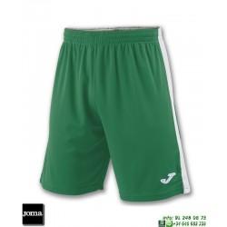JOMA Pantalon Corto TOKIO II SHORT Futbol VERDE BLANCO 100684.452