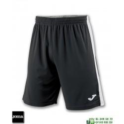 JOMA Pantalon Corto TOKIO II SHORT Futbol NEGRO BLANCO 100684.102