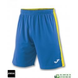 JOMA Pantalon Corto TOKIO II SHORT Futbol AZUL ROYAL AMARILLO 100684.709