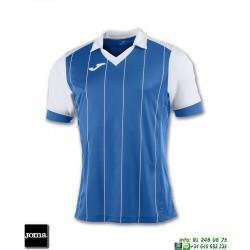 JOMA Camiseta GRADA Futbol AZUL ROYAL - BLANCO 100680.702 equipacion