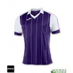 JOMA Camiseta GRADA Futbol MORADO - BLANCO 100680.552 equipacion