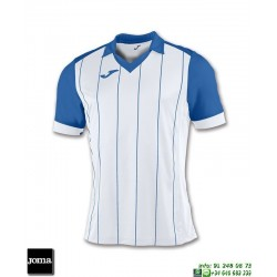 JOMA Camiseta GRADA Futbol BLANCO - AZUL ROYAL 100680.206 equipacion