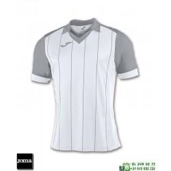 JOMA Camiseta GRADA Futbol BLANCO - GRIS 100680.200 equipacion