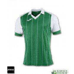 JOMA Camiseta GRADA Futbol VERDE - BLANCO 100680.452 equipacion